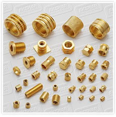 Brass Inserts For Plastic Moulding Manufacturers Exporters